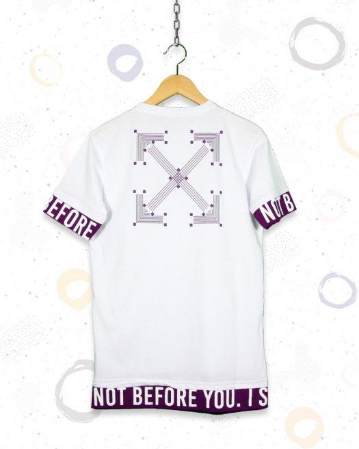 Before Baskılı Beyaz Tişört