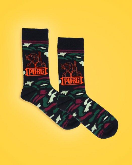 Pubg Desenli Soket Çorap